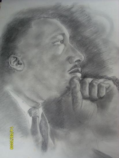 Martin Luther King par MellsBells